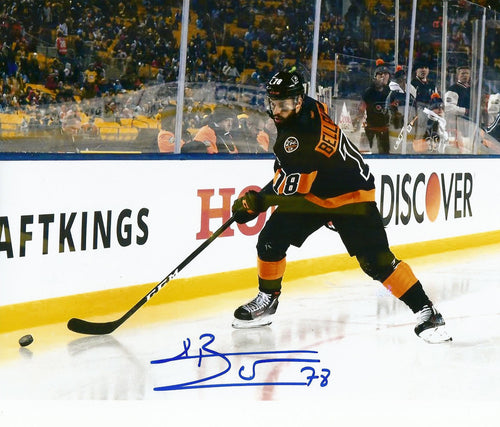 Philadelphia Flyers Pierre-Édouard Bellemare Stadium Series Autographed NHL Hockey Photo - Dynasty Sports & Framing