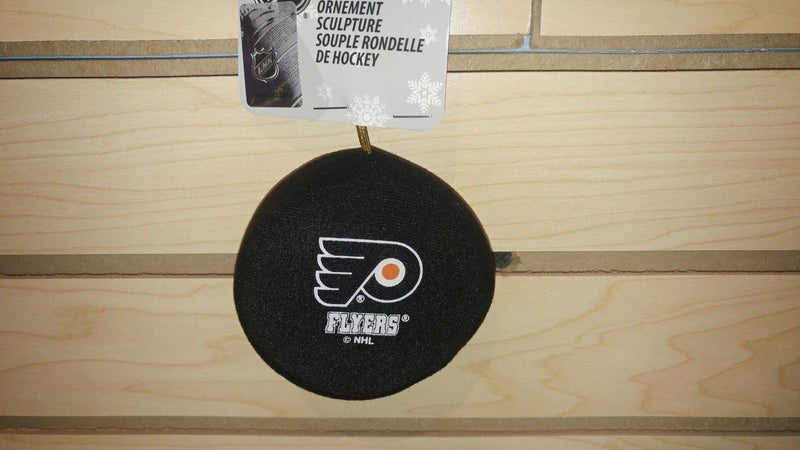 Philadelphia Flyers Plush Hockey Puck Ornament