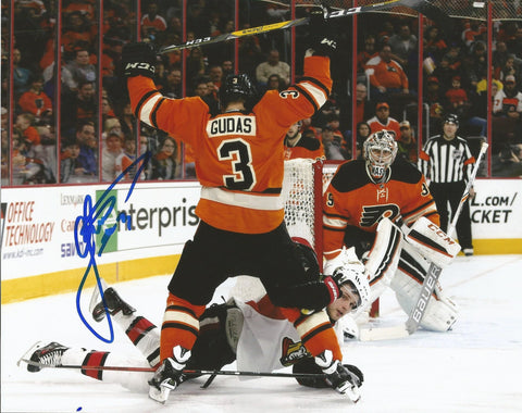 Radko Gudas Philadelphia Flyers Autographed Check Photo - Dynasty Sports & Framing  - 1