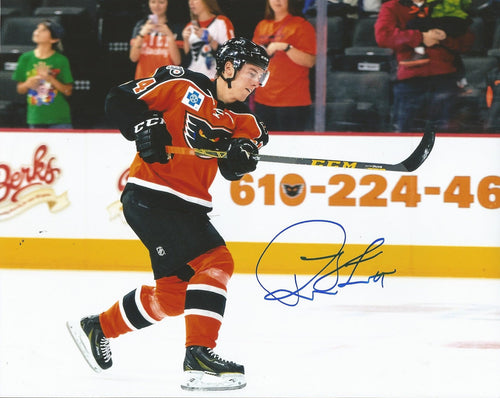 Philadelphia Flyers Robert Hägg Shoot Autographed NHL Hockey Photo - Dynasty Sports & Framing