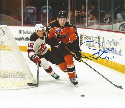 Philadelphia Flyers Robert Hägg Skating Autographed NHL Hockey Photo - Dynasty Sports & Framing