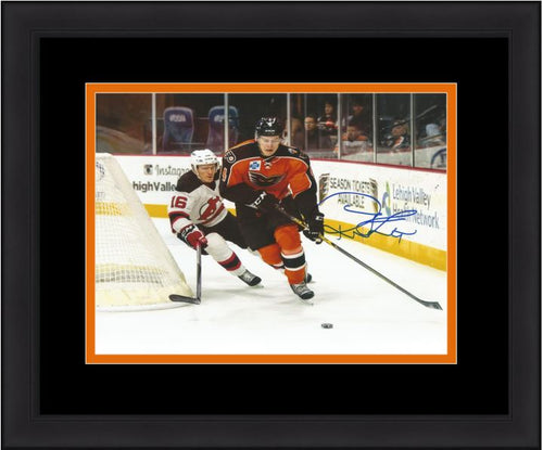 Philadelphia Flyers Robert Hägg Skating Autographed NHL Hockey Framed and Matted Photo - Dynasty Sports & Framing