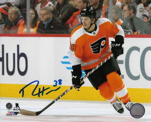 Ryan Hartman Philadelphia Flyers Autographed NHL Hockey Photo - Dynasty Sports & Framing