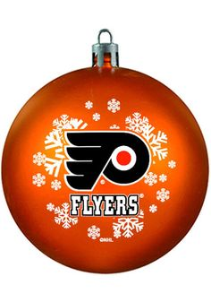 Philadelphia Flyers Shatterproof Holiday Ball Ornament - Dynasty Sports & Framing