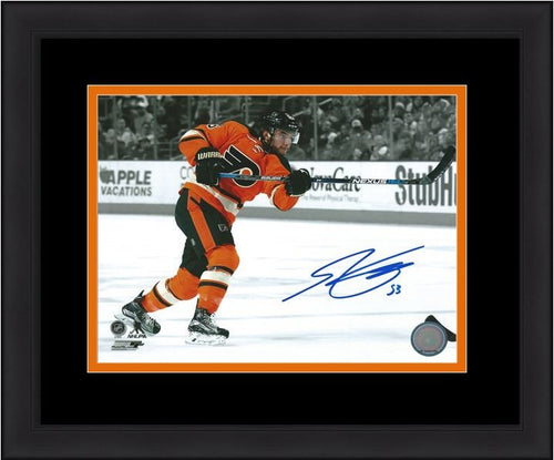 "Shayne Gostisbehere Philadelphia Flyers Autographed Spotlight 8"" x 10"" Framed and Matted Photo - Dynasty Sports & Framing"