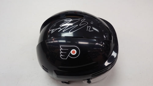 Philadelphia Flyers Simon Gagne Autographed NHL Hockey Bauer Mini-Helmet - Dynasty Sports & Framing