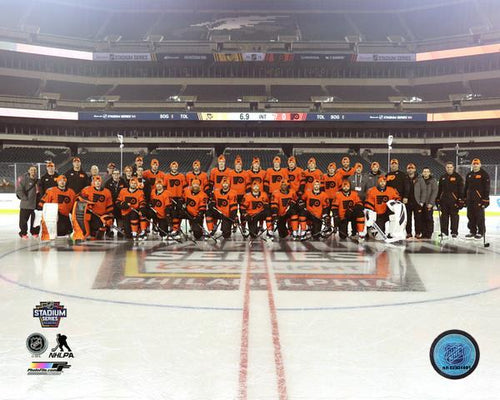 "Philadelphia Flyers 2019 Stadium Series Team Roster NHL Hockey 8"" x 10"" Photo"