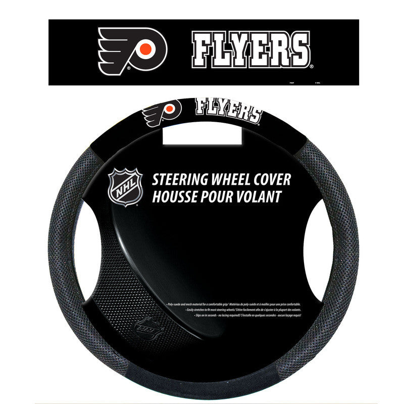 Philadelphia Flyers Steering Wheel Cover - Dynasty Sports & Framing