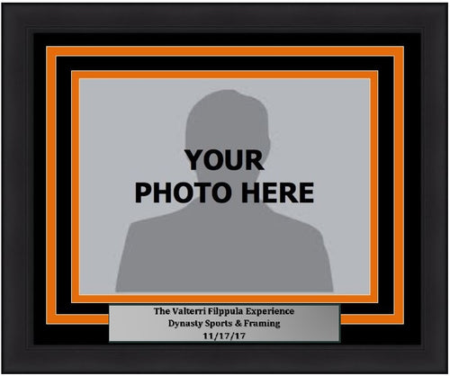 "Philadelphia Flyers Valterri Filppula 5"" x 7"" Photo Frame Kit with Commemorative Nameplate, Autograph Signing on 11-17-17"