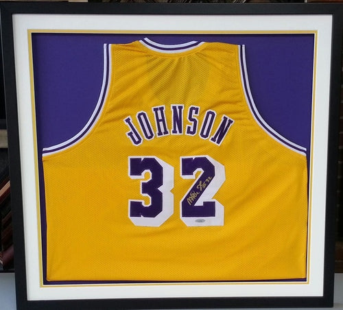 NBA Basketball Custom Jersey Framing - Dynasty Sports & Framing