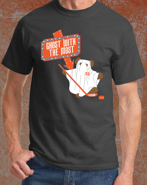 "Shayne Gostisbehere ""Beetle Ghost"" Philadelphia Hockey T-Shirt (Youth) - Dynasty Sports & Framing"