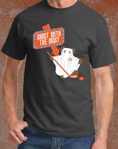 "Shayne Gostisbehere ""Beetle Ghost"" Philadelphia Hockey T-Shirt (Adult) - Dynasty Sports & Framing  - 1"