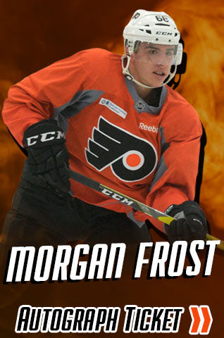 Morgan Frost Philadelphia Flyers Experience Tickets