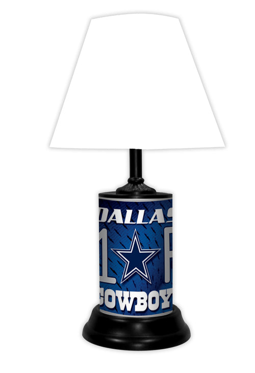 Dallas Cowboys NFL Football #1 Fan Lamp - Dynasty Sports & Framing