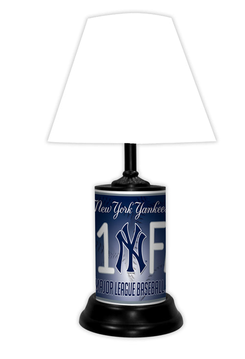 New York Yankees MLB Baseball #1 Fan Lamp