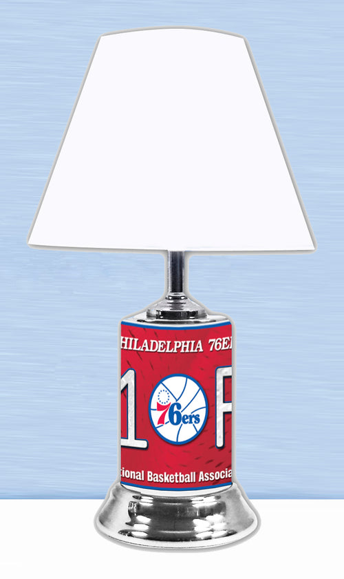 Philadelphia 76ers NBA Basketball #1 Fan Lamp - Dynasty Sports & Framing
