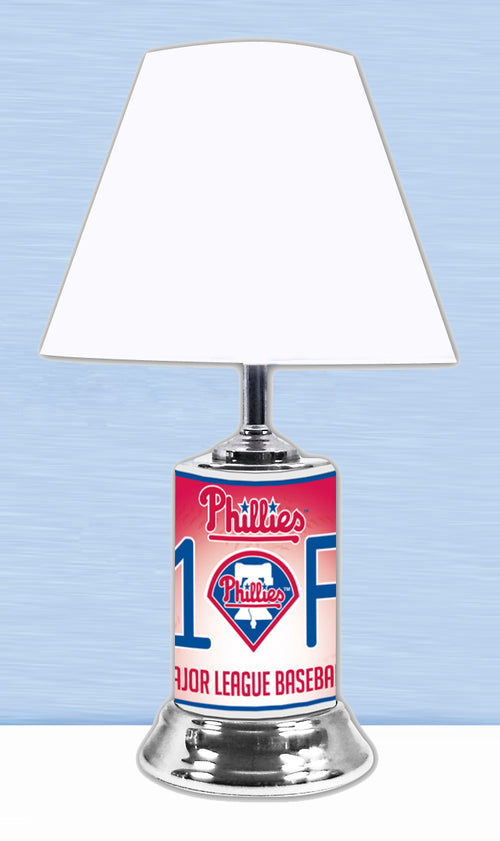 Philadelphia Phillies MLB Baseball #1 Fan Lamp