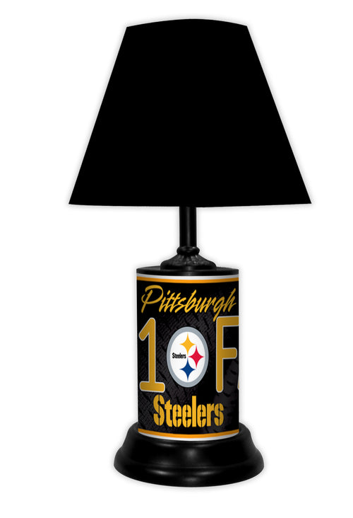 Pittsburgh Steelers NFL Football #1 Fan Lamp - Dynasty Sports & Framing
