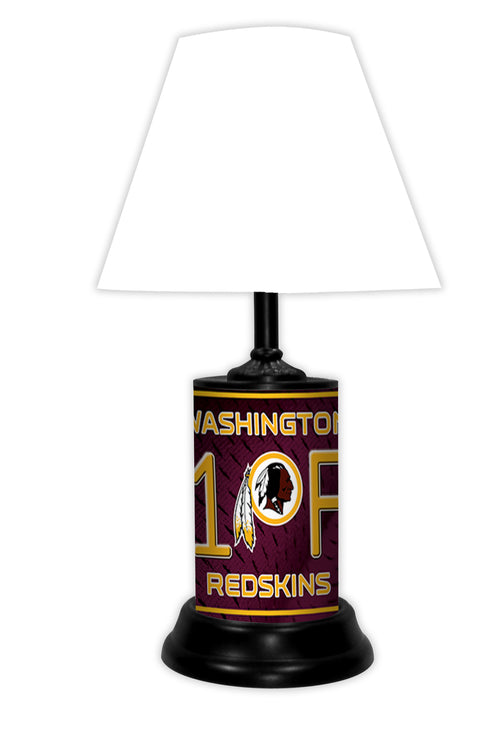 Washington Redskins NFL Football #1 Fan Lamp