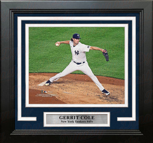 "Gerrit Cole in Action New York Yankees 8"" x 10"" Framed Baseball Photo - Dynasty Sports & Framing"