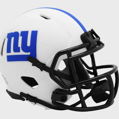 New York Giants Riddell Lunar Eclipse Alternate Mini-Helmet - Dynasty Sports & Framing