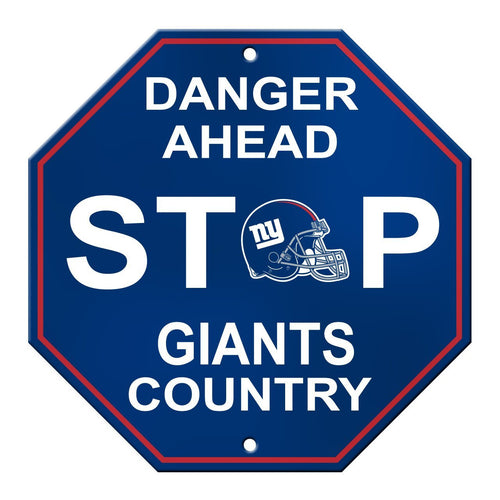 New York Giants Stop Sign - Dynasty Sports & Framing
