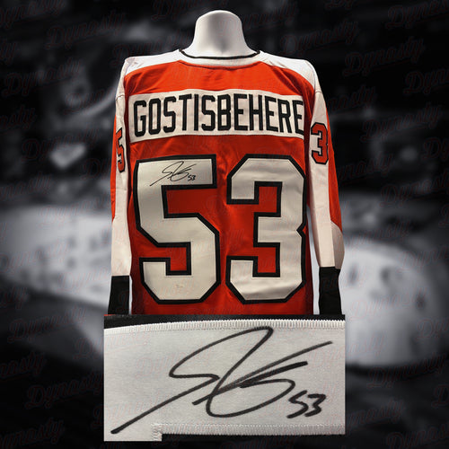 Shayne Gostisbehere Philadelphia Flyers Autographed Hockey Jersey - Dynasty Sports & Framing