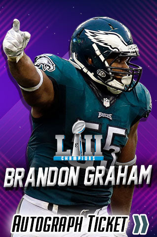 Brandon Graham Autograph Signing Event - Super Bowl LII Champions Experience - Dynasty Sports & Framing