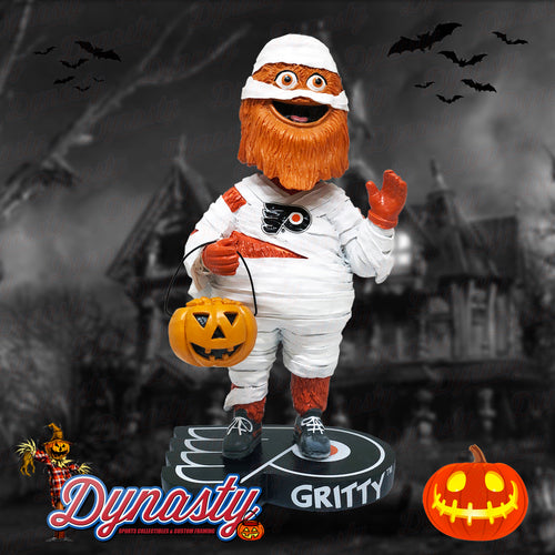 Gritty Halloween Mummy Limited Edition Bobblehead (Pre-Sale) - Dynasty Sports & Framing