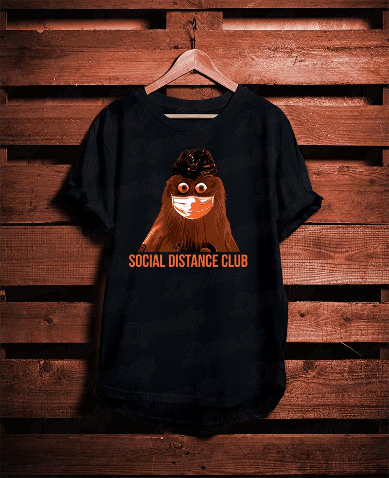 Gritty Social Distance Club T-Shirt - Dynasty Sports & Framing