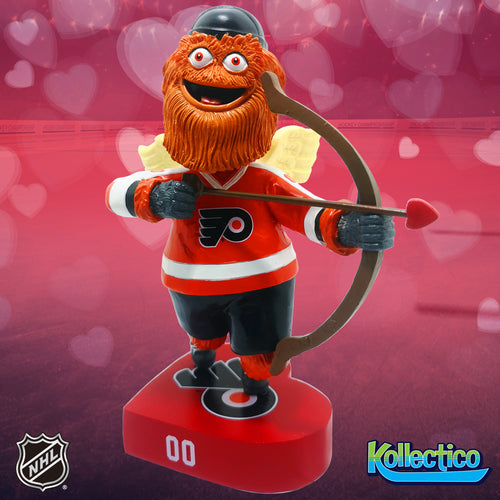 Gritty Be My Valentine Philadelphia Flyers Bobblehead - Dynasty Sports & Framing