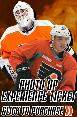 Carter Hart & Morgan Frost Philadelphia Flyers Experience Photo-Op Ticket