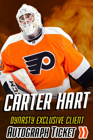 Carter Hart Philadelphia Flyers Experience Tickets