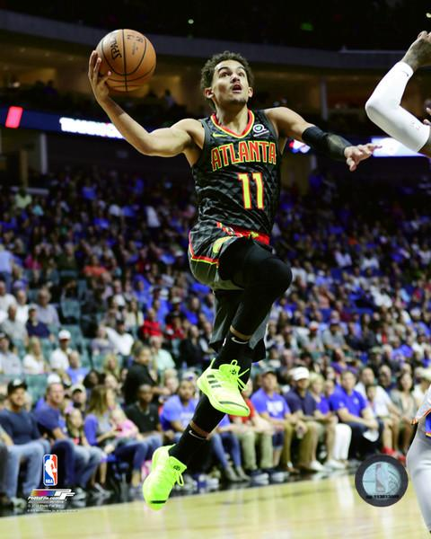 "Trae Young Atlanta Hawks NBA Basketball 8"" x 10"" Photo"