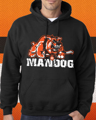 Brandon Manning Philadelphia Flyers NHL Hockey MANDOG Adult Hoodie (Dynasty Sports Exclusive) - Dynasty Sports & Framing