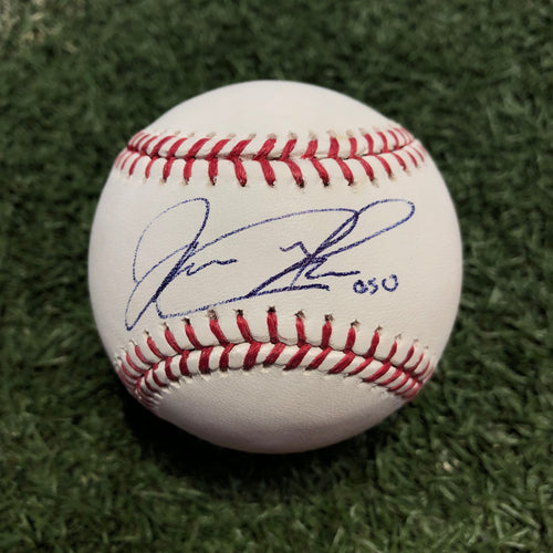 Jorge Alfaro Miami Marlins Autographed Major League Baseball with 'Oso' Inscription