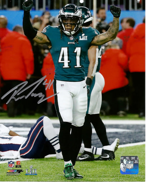 Philadelphia Eagles Ronald Darby Super Bowl Autographed NFL Football Photo