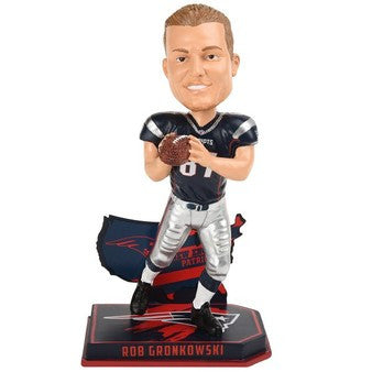 Rob Gronkowski New England Patriots NFL Football Bobblehead - Dynasty Sports & Framing