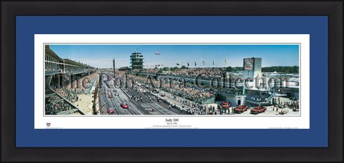 Richmond International Raceway Framed and Matted Stadium Panorama - Dynasty Sports & Framing
