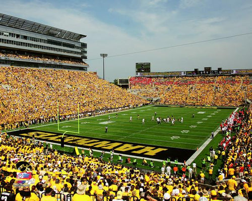 "Iowa Hawkeyes Kinnick Stadium NCAA College Football 8"" x 10"" Photo - Dynasty Sports & Framing"