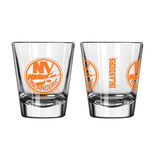 New York Islanders NHL Hockey Game Day Shot Glass - Dynasty Sports & Framing