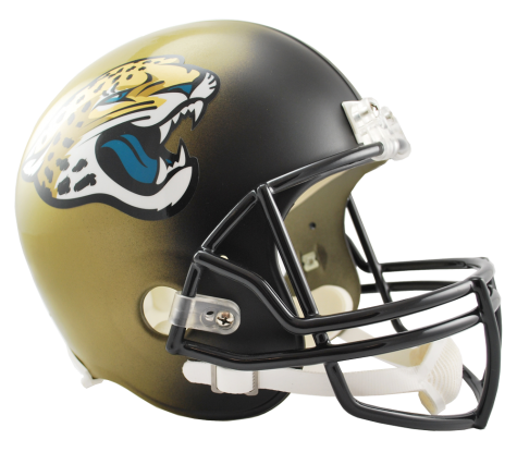 Jacksonville Jaguars NFL Full-Size Helmet Replica - Dynasty Sports & Framing