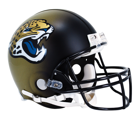 Jacksonville Jaguars Authentic NFL Full-Size Helmet