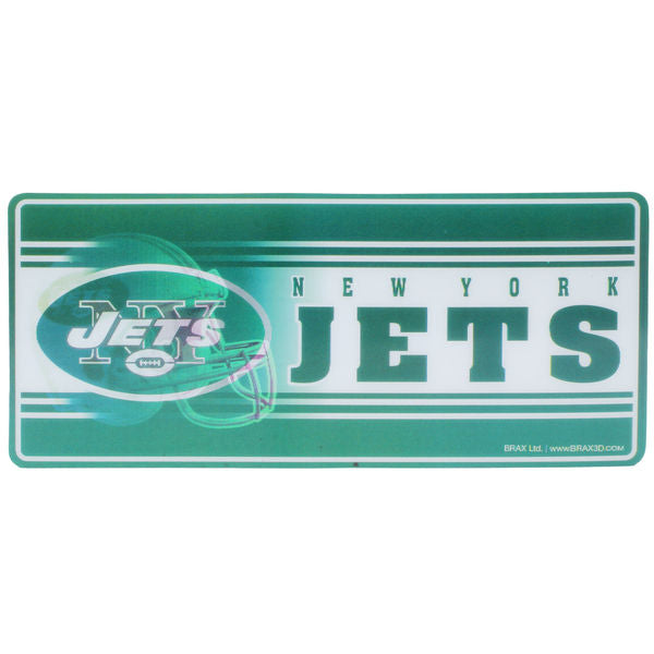 "New York Jets NFL Football 8"" 3D Holographic Magnet - Dynasty Sports & Framing"