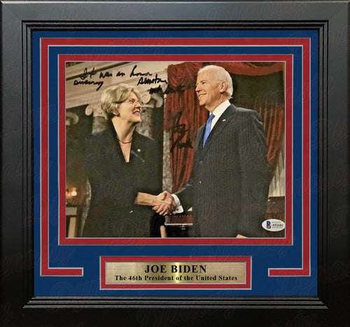 "Joe Biden 46th President of the United States Autographed 8"" x 10"" Framed Photo - Dynasty Sports & Framing"