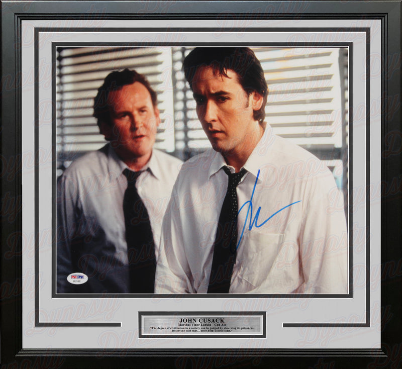 "John Cusack Autographed Con Air 11"" x 14"" Framed Photo - Dynasty Sports & Framing"