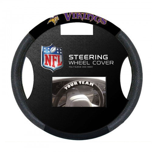 Minnesota Vikings Steering Wheel Cover - Dynasty Sports & Framing