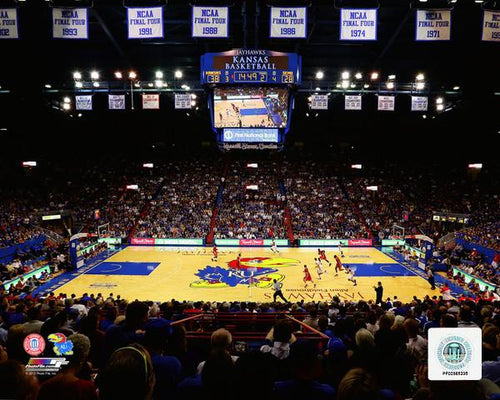 "Kansas Jayhawks Allen Fieldhouse NCAA College Basketball Stadium 8"" x 10"" Photo"