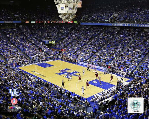 "Kentucky Wildcats Rupp Arena NCAA College Basketball Stadium 8"" x 10"" Photo"