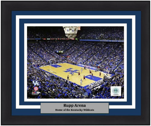 "Kentucky Wildcats Rupp Arena NCAA College Basketball Stadium 8"" x 10"" Framed and Matted Photo"